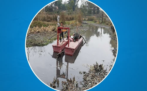 绞吸式清淤船