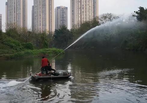 水陆两用清漂船(车)